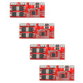 Mad Hornets 4PCS 4S 30A Li-ion Battery 18650 Charger High Current Protection Board Module