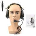 MSA SORDIN Noise Reduction Airsoft Comtac Military Combat Swat Tactical Headset