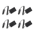 4Pcs VX-8R Car Battery Eliminator For Yaesu Radio Walkie Talkie Accessories
