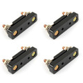 4Pcs ANL Fuse Holder Fork Type Car Power Supply No Protection Cover Base 12V