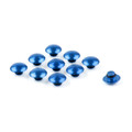Hex Socket Bolt Screw Nut Head Cover Cap M6 6MM Universal, Blue