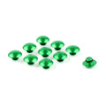 Hex Socket Bolt Screw Nut Head Cover Cap M6 6MM Universal, Green