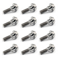 12PCs Titanium Bolts M6 x 21mm Brake Rotor Disc Bolts For Yamaha R1