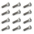 12PCs Titanium Bolts M8 x 33mm Brake Rotor Disc Bolts For GSXR GSX GSF SV TL Hayabusa Bandit Katana