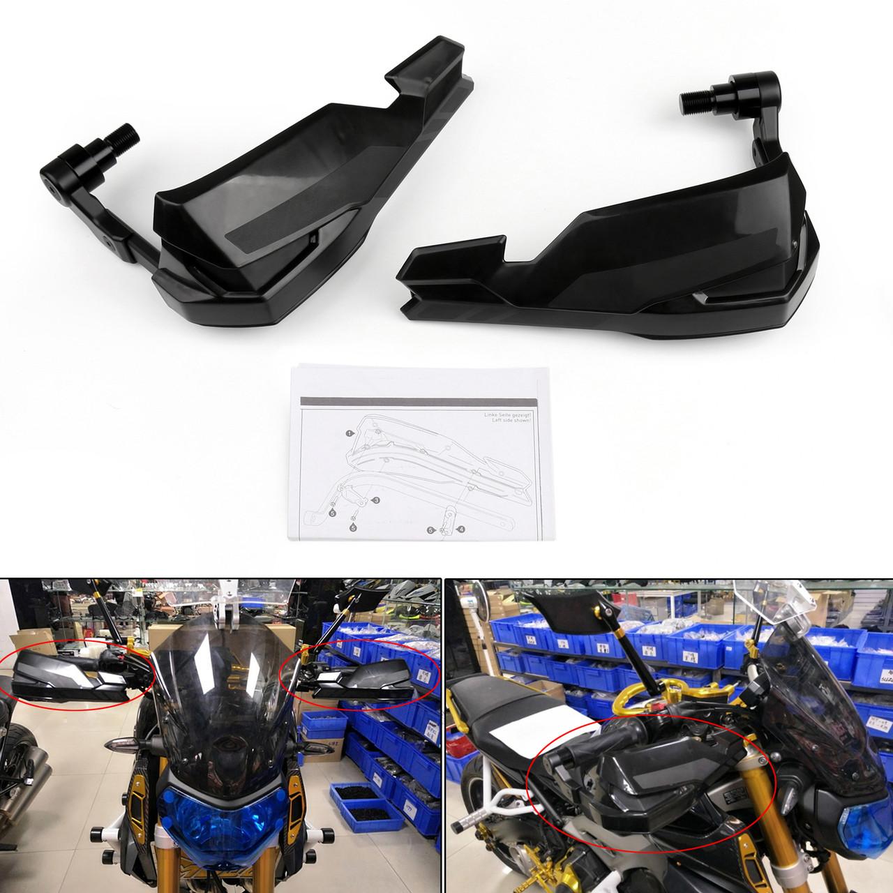 Pro Guard Brush Bar Hand Lever Protection Kit For Yamaha MT-07 MT-09  XT1200Z/X XJR1300 XSR700 MT125 Black