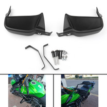 Hand Guard Shells Protector Kit For Kawasaki Z900 (17) Versys 650 (10-17) Versys 1000 (15-17) Black