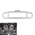 Stereo Accent Trim Ring Cover For Harley Electra Glide Touring FLHX FLHT, Chrome