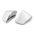 Plastic Side Battery Covers for Honda Shadow ACE VT400 VT750 (98-03) Chrome