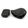 Front Rear Pillion Passenger Seat For Honda Shadow Spirit VT750 ACE VT750C VT750CD (98-03) Black (M512-F023-Black)