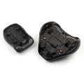Front Rear Rider Pillion Passenger Seat for Suzuki Volusia VL800 (01-04) C50 (04-13) Black (M512-F025-Black)