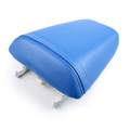 Passenger Rear Seat Leather Pillon For Honda CBR600 F4i (2001-2007) Blue