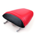 Passenger Rear Seat Leather Pillon For Honda CBR600 F4i (2001-2007) Red