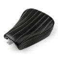 Front Seat Rider Solo Saddle Pad for Harley Sportster XL 48 72 Forty-Eight Seventy-Two (2012-2015) Black