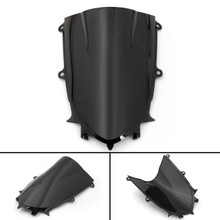 ABS Windshield WindScreen For Yamaha YZF 600 R6 (2017 2018) Black