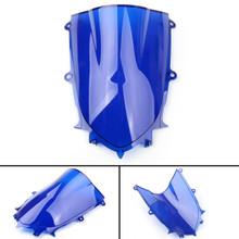 ABS Windshield WindScreen For Yamaha YZF 600 R6 (2017 2018) Blue