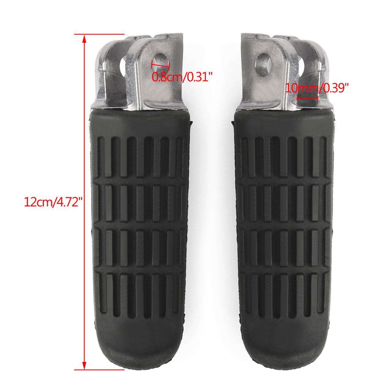 Foot Pegs Front Footrest for Honda CBR1000F CBR1100XX CBF500 CBF600 CBF1000