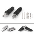 Rear Footrests Foot Pegs For Suzuki GSX1300R Hayabusa GSX650 GSF650 Bandit 650 GSX1300 BK1300