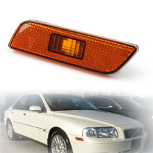 Front Bumper Left Side Turn Signal Lamp Light For Volvo S80 (1998-2006)