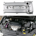 Engine Valve Cover For Toyota Camry 11201-28014 Harrier RAV4 2.4L 2AZ 2AZFE, Silver (C153-A006-Silver)