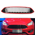 Front Bumper Grille For Ford Focus (2015-2016) Red