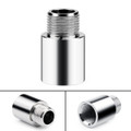 O2 OXYGEN SENSOR EXTENDER EXTENSION SPACER M18 x1.5 BUNG HHO ADAPTER OBD2 02, Silver