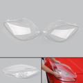 Head Light Lenses Replacement Covers Pair Left&Right For C6 Corvette