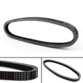 Drive Belt 0627-010 For Arctic Cat Z 570, Cat 4 F5 F6 F7,  Cat Mountain Cat, Cat Sabercat 500 600, Cat Triple Touring, Cougar Mountain, Cat EXT, Black