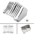 Oil Cooler Cover For Harley Touring CVO Freewheele Road King Bagger (17-18) Chrome