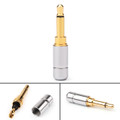 1PC 3.5mm 2 Pole TS Mono Plug Male Adapter Audio MINI Connector For Headphone