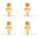 4PCs TS9 Male to RP-SMA Female Stright RF Coaxial Cable Connector Adapter