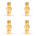 4PCs SMA Female to SMC Female Connector WIFI Antenna Adapter Converter Coaxial