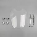 Windscreen Windshield For Harley Davidson Sportster XL883 86-10 XL1200 88-11 Clear