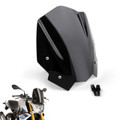 ABS Plastic Windshield Windscreen For BMW G310R 2017-2018 Black