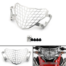 Front Headlight Grille Guard Cover Protector For BMW G 310GS 17-18 Silver