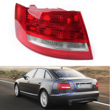 OEM Led Tail Light Cover Left Driver'S Side for Audi A6 Sedan 06-08 S6 07-08