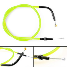 Wire Steel Clutch Cable Replacement For Yamaha MT-09 MT 09 14-17 Yellow
