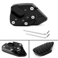 Side Stand Kickstand Enlarge Extension Pad Plate For Honda X-ADV 750 17-18 Black