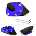 Side Stand Kickstand Enlarge Extension Pad Plate For Honda X-ADV 750 17-18 Blue