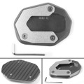 Kickstand Side Stand Plate Extension Pad for Ducati Scrambler 800 2015-2017 Titnaium