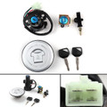 Ignition Switch Lock Fuel Gas Cap Set For Honda XLV650 XL650 Transalp 2000-2006