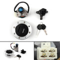 Ignition Switch Lock Fuel Gas Cap Set For Suzuki GSXR400 GK76A 90-95 RF900 94-99