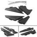 Upper Frame Cover Side Panel Protector For BMW R 1200GS LC Adventure 14-16 Black
