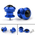 Pair 6mm Swingarm Sliders Spools For Yamaha MT01 MT09 YZF-R3 R1 MAX 530 Blue