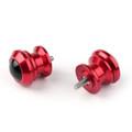 Pair 6mm Swingarm Sliders Spools For Yamaha MT01 MT09 YZF-R3 R1 MAX 530 Red