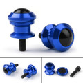 10mm Billet Swingarm Spools Sliders Universal For Kawasaki Ninja 250R 1000 ZX 6R ZX10R Blue