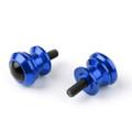 10mm Billet Swingarm Spools Sliders Universal For Kawasaki Ninja 250R 1000 ZX 6R ZX10R Blue