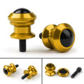 10mm Billet Swingarm Spools Sliders Universal For Kawasaki Ninja 250R 1000 ZX 6R ZX10R Gold