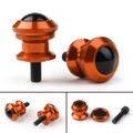 10mm Billet Swingarm Spools Sliders Universal For Kawasaki Ninja 250R 1000 ZX 6R ZX10R Orange