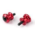 10mm Billet Swingarm Spools Sliders Universal For Kawasaki Ninja 250R 1000 ZX 6R ZX10R Red