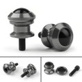 10mm Billet Swingarm Spools Sliders Universal For Kawasaki Ninja 250R 1000 ZX 6R ZX10R Titanium
